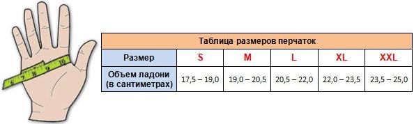 размер-перчаток-таблица