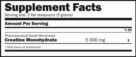 Creatine Monohydrate Amix Nutrition 1000 грамм